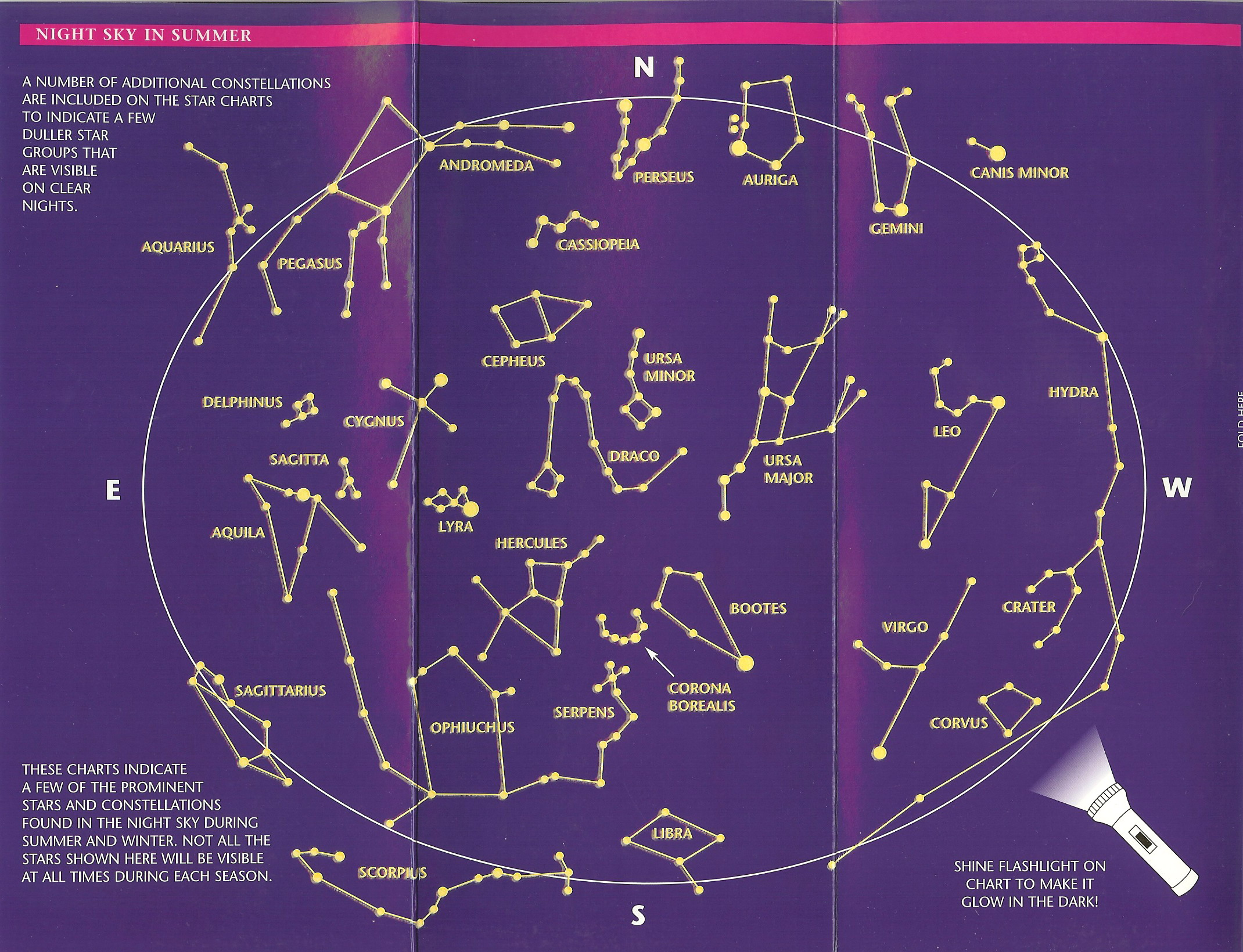 This is the summer constellation chart