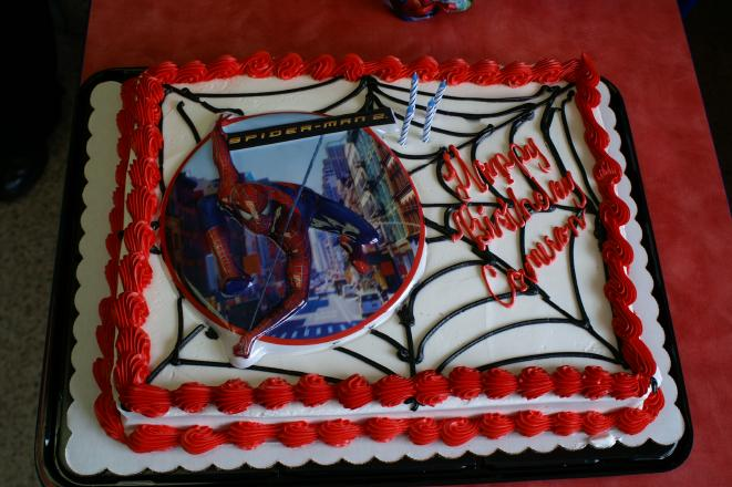 Spiderman Birthday Cake Kroger